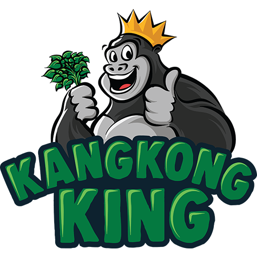 Kangkongking Logo, Vegan, Snack, Philippine Snack, Diet, Low Fat, Low Calroie